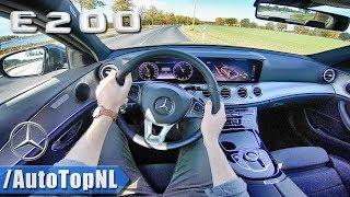 Mercedes-Benz E Class E200 2.0 Turbo Pov Test Drive By Autotopnl