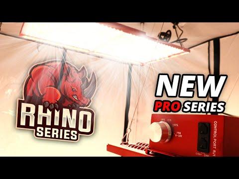 Nouveaux Rhino Pro 130W & 260W - CannaLED - Lampes Horticoles LEDs Intérieur