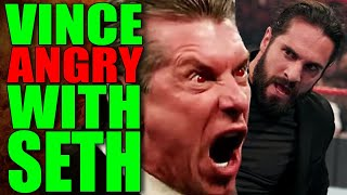 Vince Legit FURIOUS With Seth Rollins Backstage! Corey Graves Heat! WWE Wrestling News