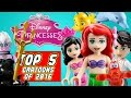 ♥ LEGO Disney Princess Ariel TOP 5  The Little Mermaid Cartoons of 2016