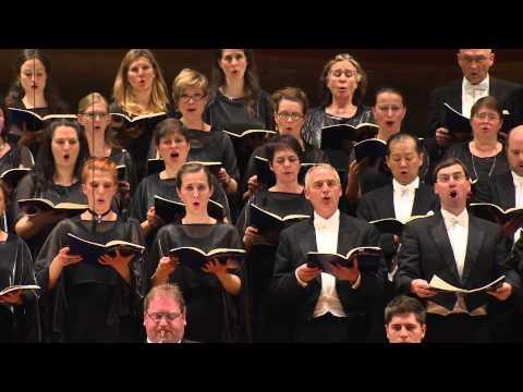 """Go down, Moses"" (arr. Tippett) / Rattle · Rundfunkchor Berlin · Berliner Philharmoniker"