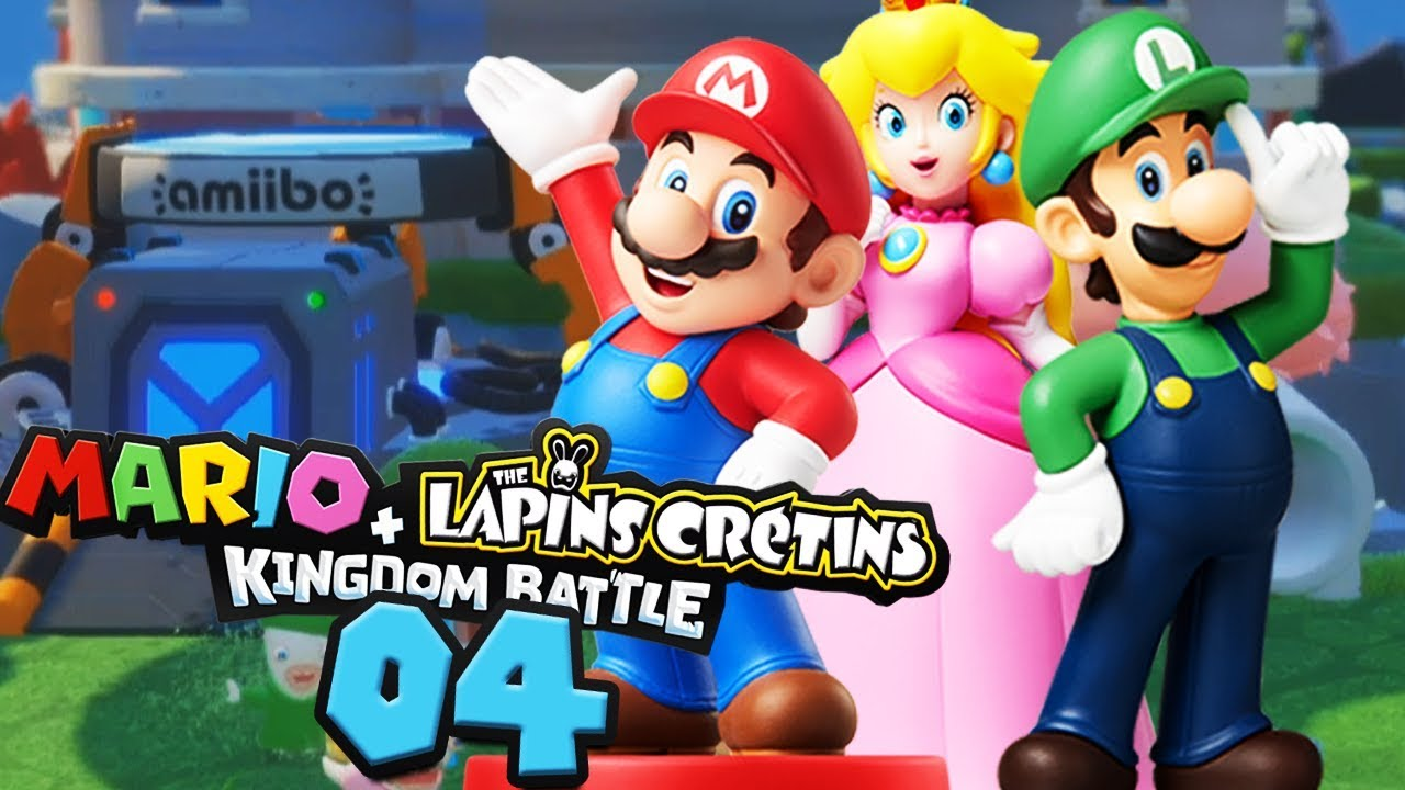 Les Super Armes Des Amiibo Mario Lapins Crétins 04 Youtube