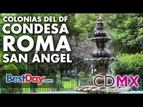 La Condesa, Colonia Roma y San Angel en CDMX