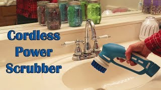 🍀 CORDLESS POWER SCRUBBER CUH  (BEST Spin Turbo HANDHELD Cleaner) Review COUPON CODE 👈
