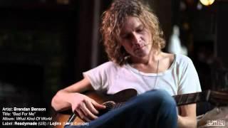 Brendan Benson - Bad For Me (from new album What Kind Of World)