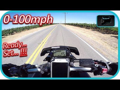 Yamaha Fz10/MT10 0-100MPH!!!!  HAMMER TIME!!!