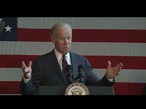 Raw video: Joe Biden campaigns for Hillary Clinton in Nashua