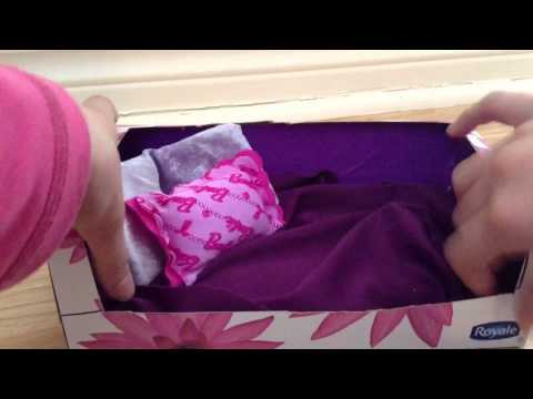 How To Make A Stacy Doll Bed