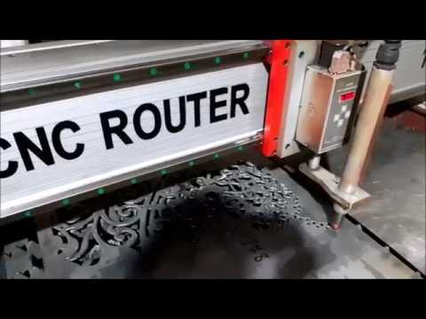 Metal Door Fabrication made on OMNI Plasma CNC Cutting Machine(customer testing)