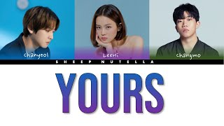 Cover images Raiden X 찬열 CHANYEOL 'Yours (Feat. 이하이 Leehi, 창모 Changmo)'[Color Coded Lyrics HAN/ROM/ENG/CHN中字]