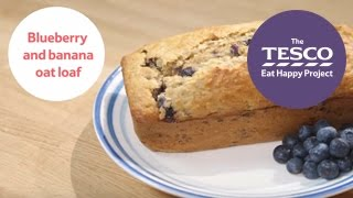 Brilliant blueberry and banana loaf in just 12 minutes - Eat Happy Project recipes for children