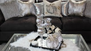 Glam Fall Home Tour 2017 | Living Room & Dining Room
