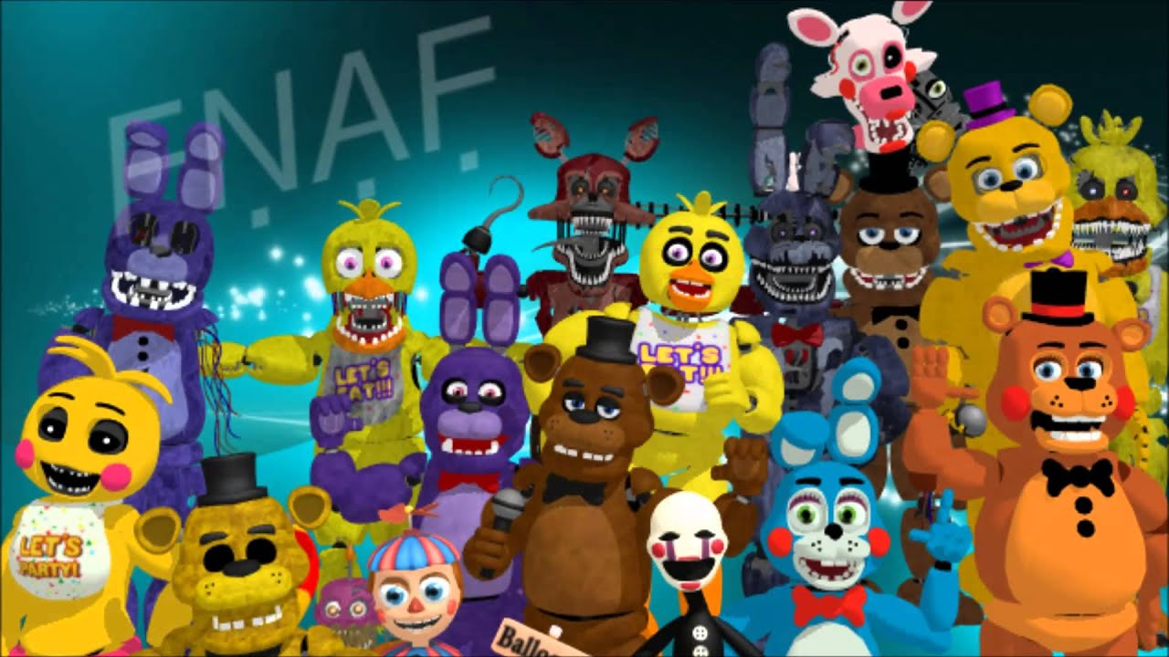 Five Nights At Freddy S Wallpaper Partie 2 Youtube
