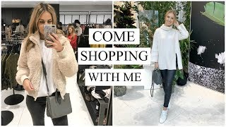 COME SHOPPING WITH ME | VLOG & HAUL | ZARA, MANGO, H&M
