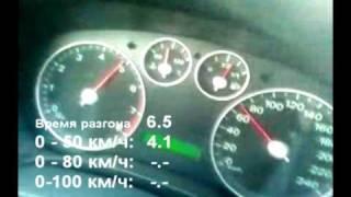 Ford Focus 1.6, 115hp, разгон 0-100 км/ч за 11.1 секунды по спидометру(, 2010-08-27T18:33:16.000Z)