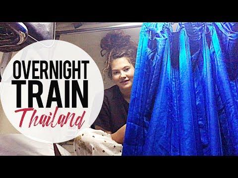 No Sleep Sleeper Train   Chiang Mai to Bangkok, Thailand