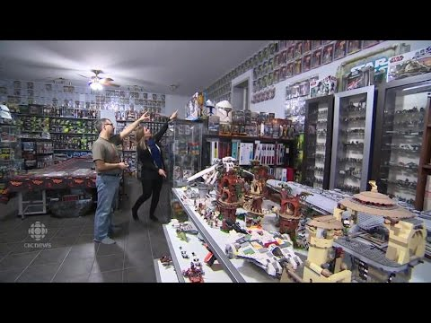 Saskatchewan man claims largest Star Wars collection in Canada