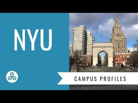 NYU  - New York University - Campus visit with American College Strategies