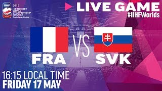France vs. Slovakia | Full Game | 2019 IIHF Ice Hockey World Championship