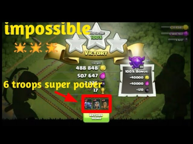 Clash of clan impossible