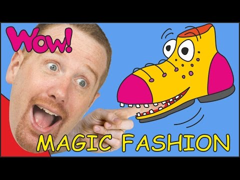 Thumbnail: Magic Fashion for Kids + MORE | Stories for Children | Steve and Maggie from Wow English TV
