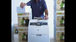 HP color printers format A4
