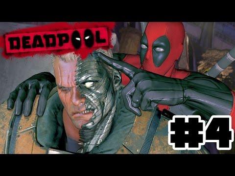 MI AMIGO EL CABLE XD | PS4 | DeadPool the Game #4