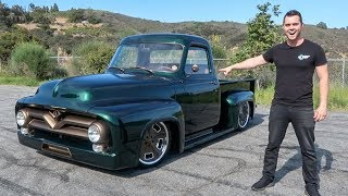 DRIVING THE CRAZIEST TRUCK EVER *It's Slammed!*