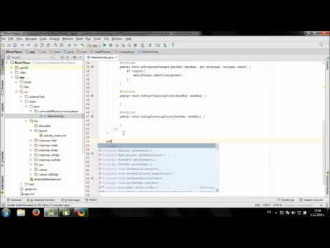 Working with MediaPlayer and SeekBar in Android Studio
