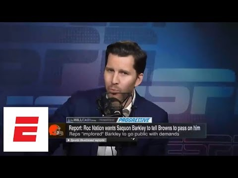 Will Cain: Saquon Barkley will probably be a great NFL running back, but... | Will Cain Show | ESPN