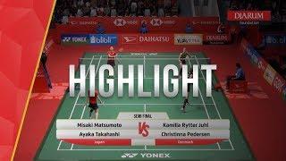 Misaki Matsumoto/Ayaka Takahashi (Japan) VS Christinna Pedersen/Kam...
