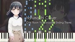 Harumachi Clover - One Room Yui Hanasaka Ending Theme - Piano Arrangement [Synthesia]