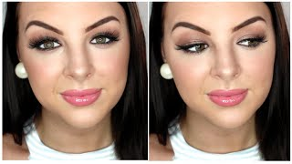 GET READY WITH ME! Bronze Eyes & Pink Lips ft Chi Chi Nudes Palette