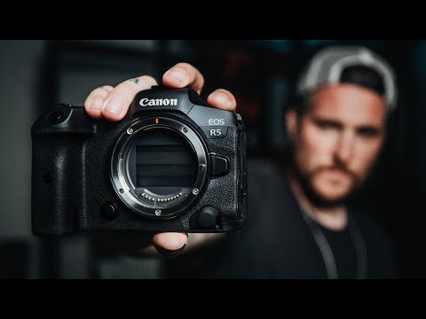 Hands ON with the NEW CANON EOS R5! THE GRAIL CAMERA!