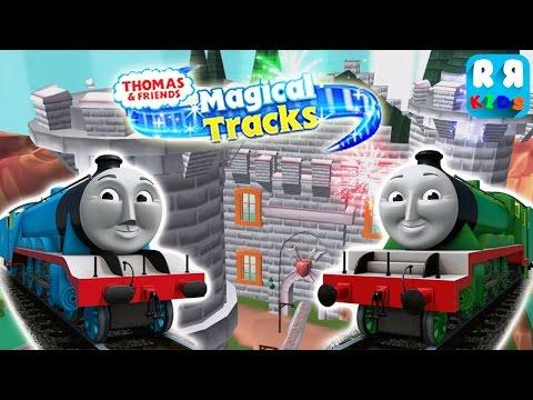 Thomas and Friends: Magical Tracks  Kids Train Set  Gordon and Henry The Big Engine