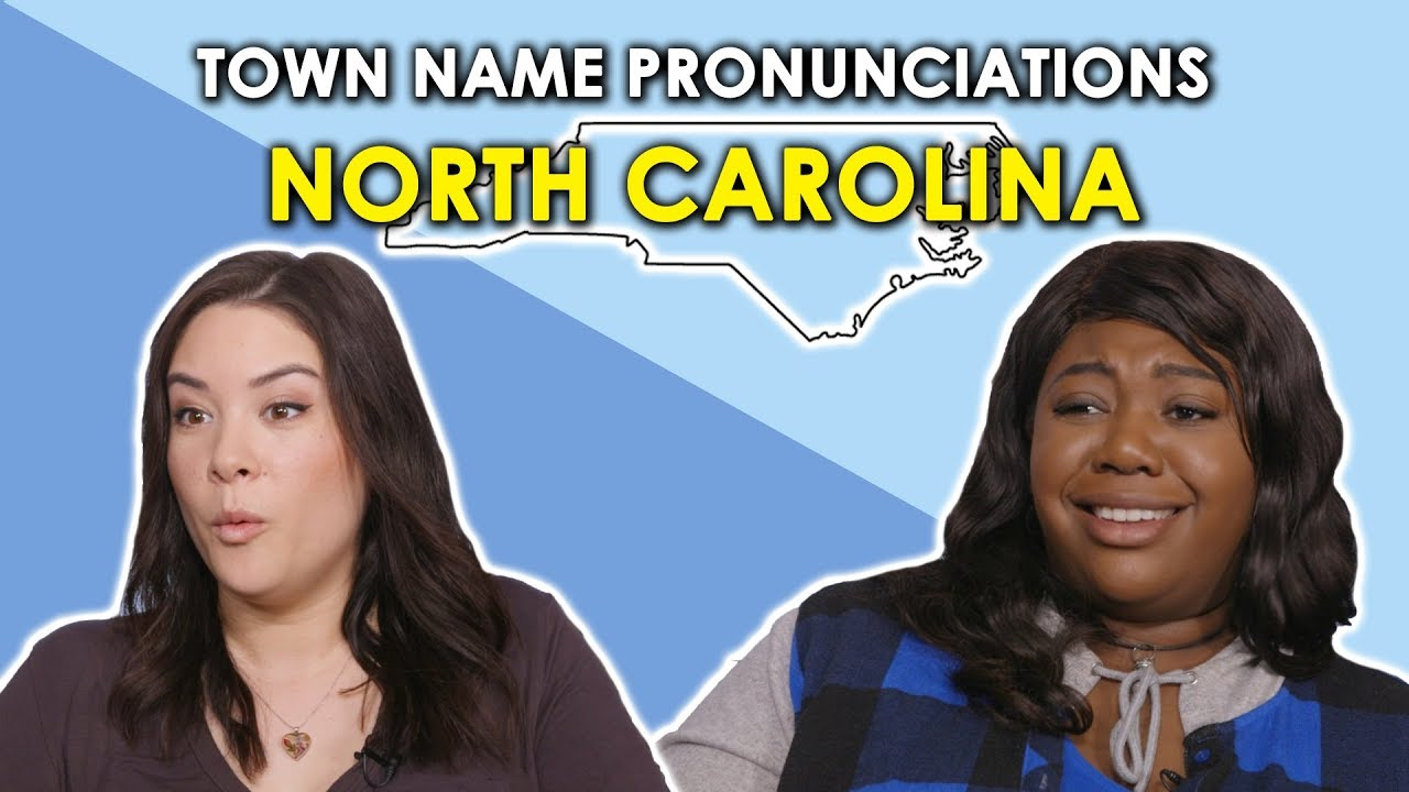 Download We Try to Pronounce North Carolina Town Names