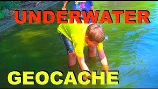 UNDERWATER GEOCACHE!