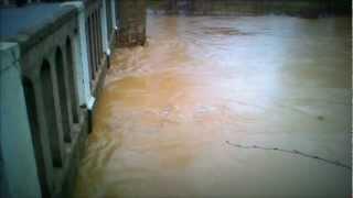 Inondations à L'isle de Noé (20/01/13)