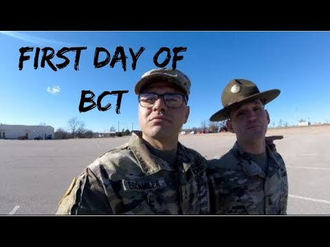 First day of BCT