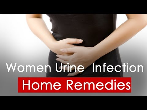 Woman urine infection home remedies