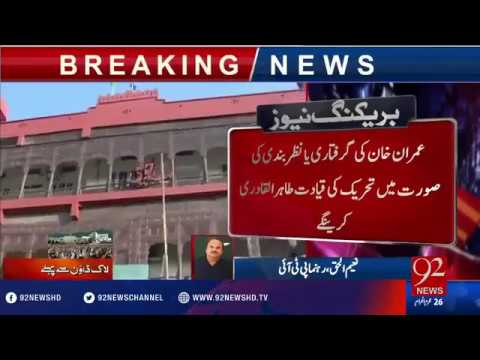 What is Plan B. PTI Workers Arrest in Islamabad