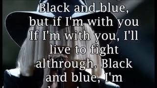 sia-black and blue(underlased demo)lyrics video