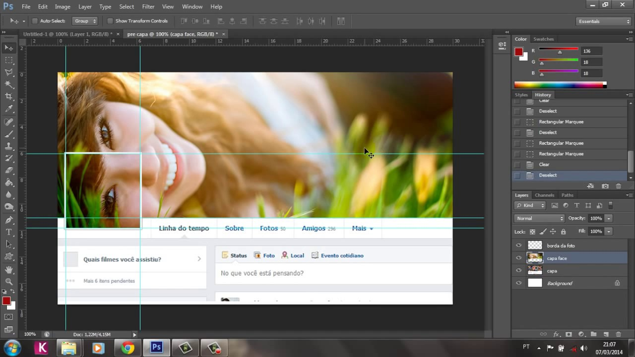 Como criar uma foto de capa para o seu Facebook …