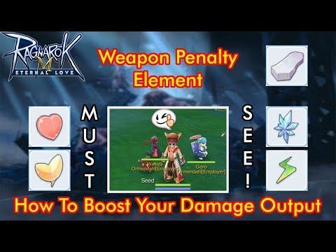 PENTING ! Weapon Penalty & Element Di Ragnarok Mobile Eternal Love