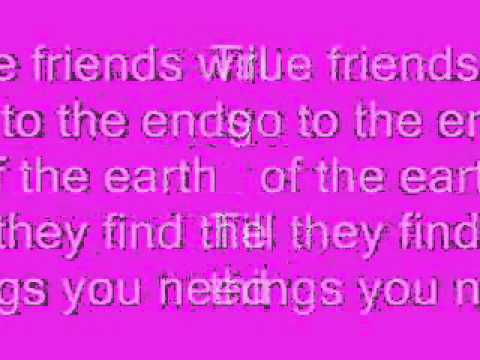 Hannah Montana - True Friend + Lyrics - YouTube