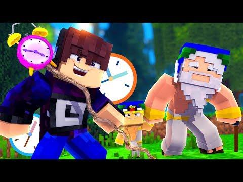 Minecraft: CRONOS o DEUS do TEMPO - DEUSES DO AMANHÃ Ep.32 « Nitro »