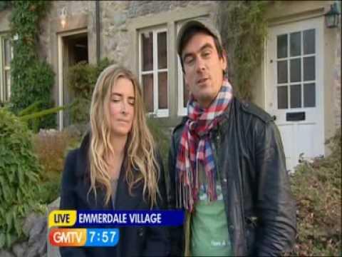 Emma Atkins and Jeff Hordley Interviewed on GMTV - 1st October 2009