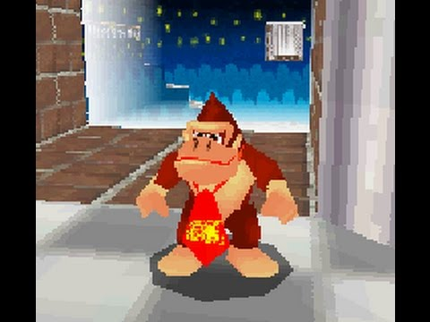 Donkey Kong in Super Mario 64 DS (hack)