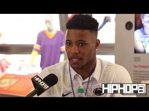 Penn State (RB) Saquon Barkley Talks The NFL, Penn State Football, Coach Franklin & More