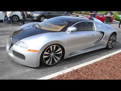 FAKE Bugatti Veyron Pur Sang (Replica) 1080p HD